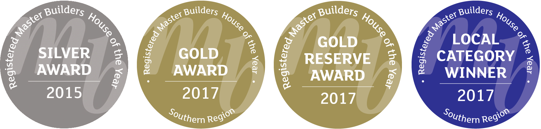 Registered Master Builders Awards