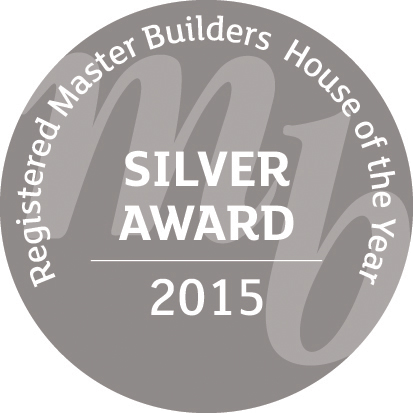 Registered Master Builders House of the Year silver award 2015