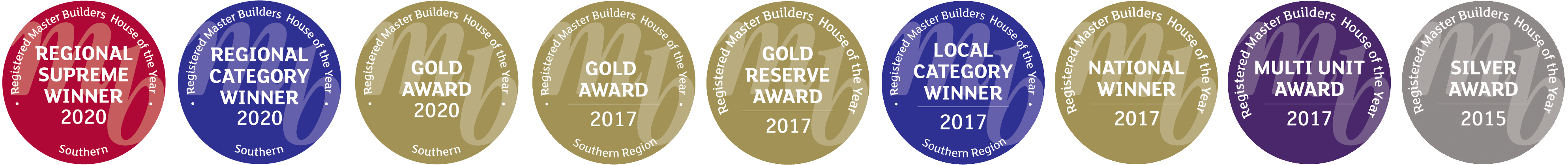 Master Builders Awards Bennie Builders